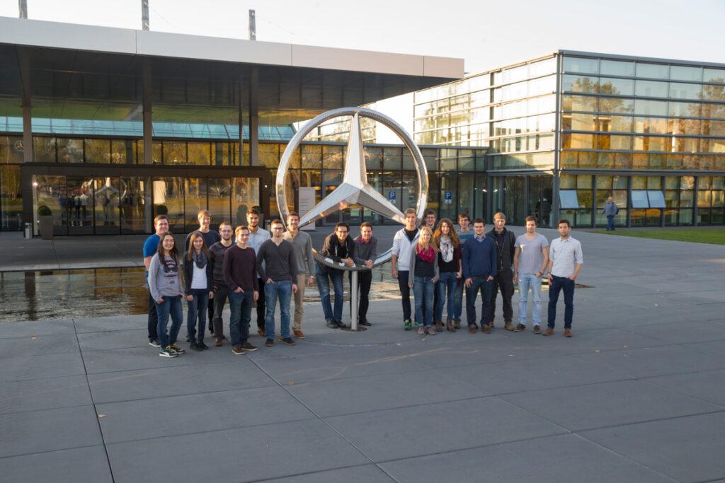 Firmenbesuch Daimler